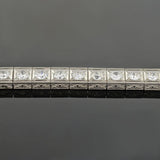 Art Deco Platinum Diamond Line Bracelet 7.50ctw