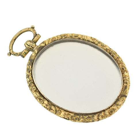 Victorian Gold-Filled Reversible Double Sided Locket
