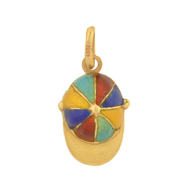 Retro 18kt Rainbow Enamel Boy