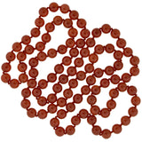 Estate Hand Knotted Carnelian Bead
