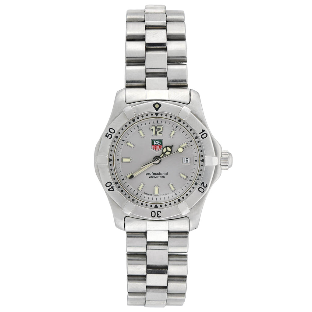 TAG HEUER Estate 2000 Series 28mm Stainless Steel + Quartz Watch