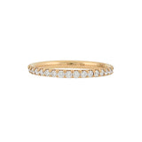 Estate 18kt Yellow Gold Diamond Eternity Band 1.20ctw