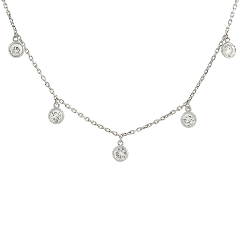 Edwardian 14kt/Platinum Seed Pearl + Diamond Centerpiece Necklace