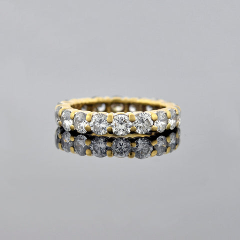 Estate 18kt Diamond Eternity Band 1.80ctw