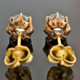 Victorian 9kt French Paste Stud Earrings