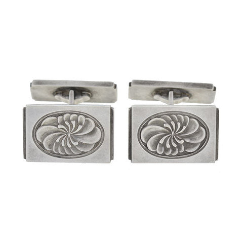 GEORG JENSEN Estate Sterling Silver Cufflinks