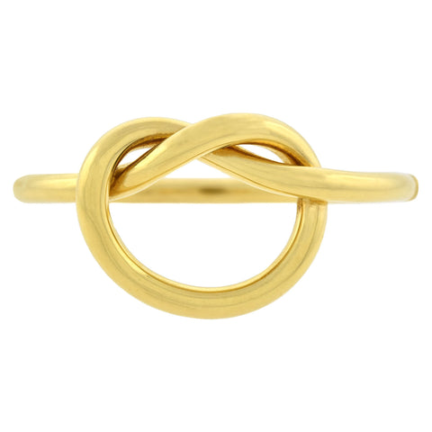 Vintage 18kt Yellow Gold Love Knot Bangle Bracelet ON HOLD