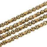 Victorian Gold-Filled Fancy Link Chain with Watch Clasp 54