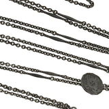Edwardian Berlin Iron Muff Chain with