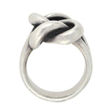 Vintage James Avery Large Sterling Silver Love Knot Ring