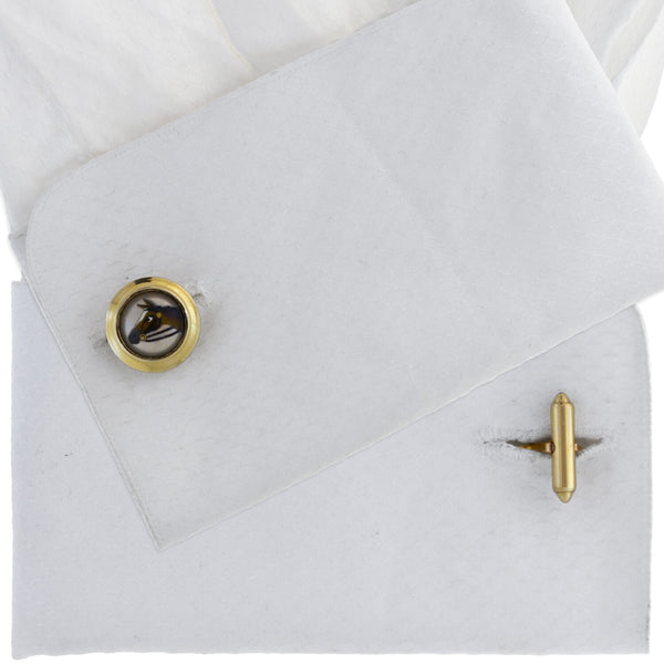 Horse Gift Set Cufflinks /& Tie Bar~matching Tie Clip Presented with gift box