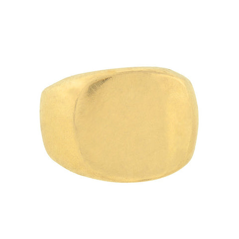 CHURCH Estate Large 14kt Heavy Gold Signet Ring 21.0 dwt