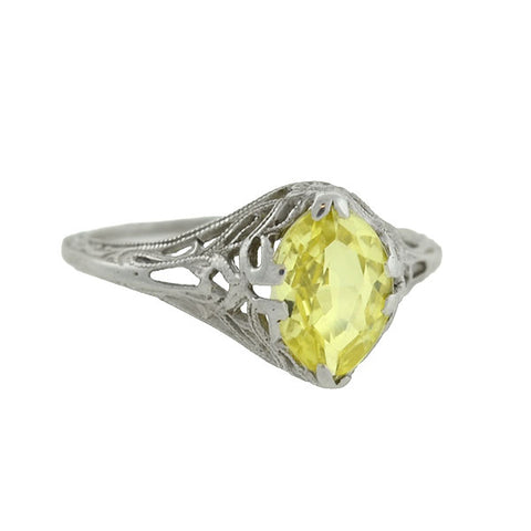 Victorian 9kt & Sterling Multi Stone Ring