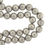 Vintage Sterling Silver Large Bead Slip-On Necklace 32