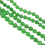 Edwardian GIA-Certified Natural Jadeite Bead Necklace + Platinum Diamond Clasp 34