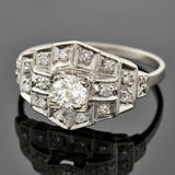 Art Deco Platinum