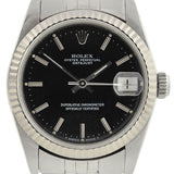 ROLEX Midsize Stainless Steel Datejust 31mm Watch