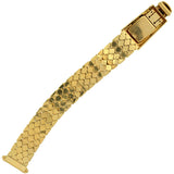 Retro 14kt Gold Diamond & Ruby Buckle Watch