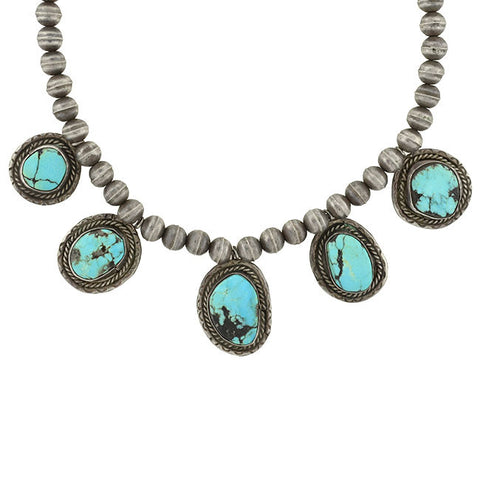 ELSA PERETTI for TIFFANY Estate Sterling Sevillana Necklace