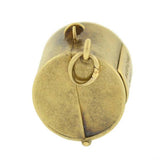 Art Deco 14kt Moveable Medicine Chest Charm