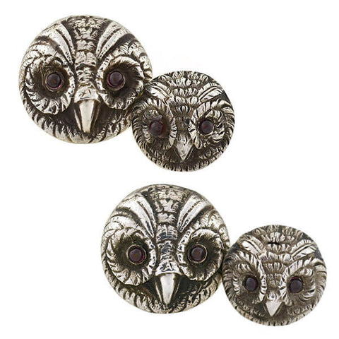 SPRATLING Vintage Sterling Tortoise Love Knot Pique Earrings
