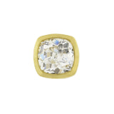 Estate 18kt Old Mine Cut Diamond Stud Earrings 2.31ctw