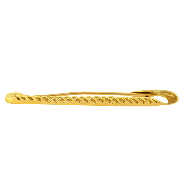 e7defb80ee1 TIFFANY   CO. Large Vintage 14kt Yellow Gold Safety Pin – A. Brandt ...