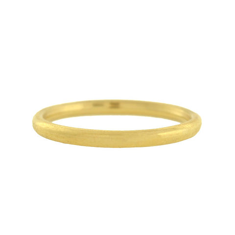 TIFFANY & CO. Estate 18kt Yellow Gold Wedding Band