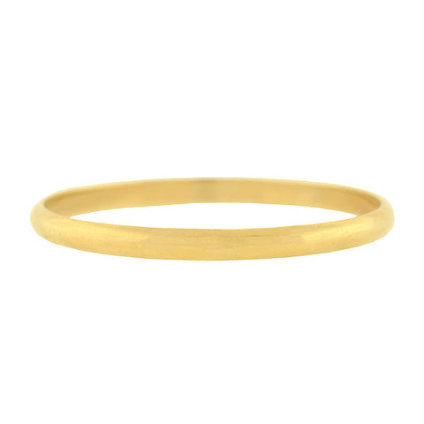 TIFFANY & CO. Estate 14kt Bangle Bracelet