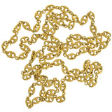 TRIFARI Vintage Gold-Plated Anchor Link Necklace 57