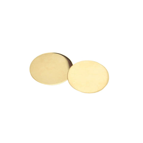 TIFFANY & CO. Estate 14kt Gold Disc Double-Sided Cufflinks