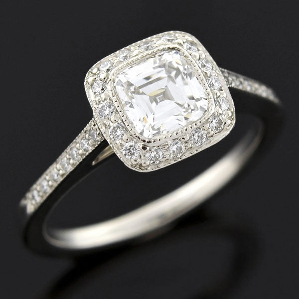 tiffany amp co legacy diamond engagement ring 0 94ct a