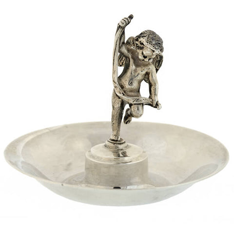 TIFFANY & CO. Sterling Silver Cherub Dish
