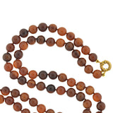 Victorian Tortoise Shell Bead Necklace 40