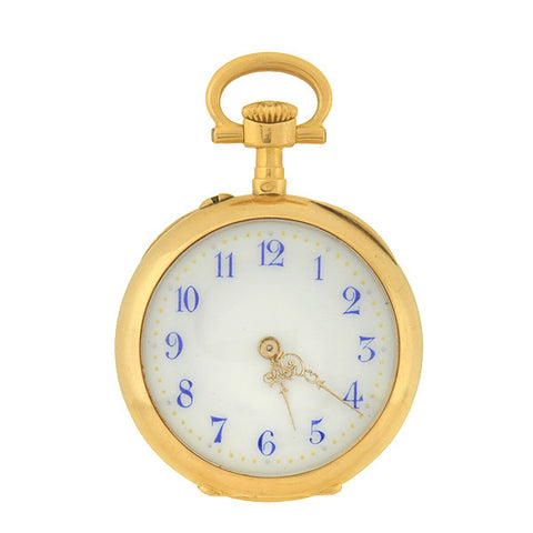 VACHERON & CONSTANTIN Victorian 18kt Gold Pocket Watch