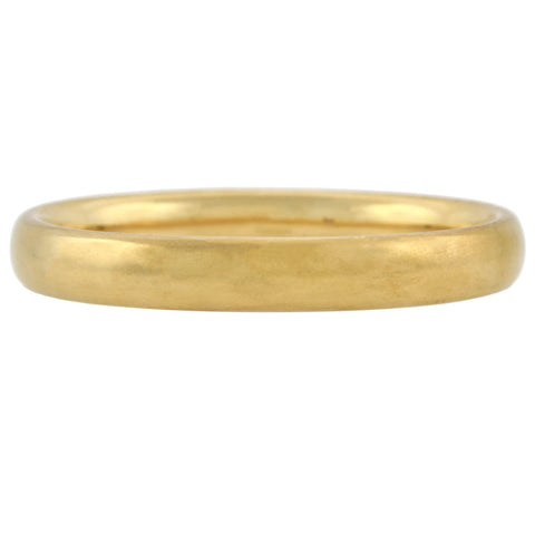 Victorian 9kt Yellow Gold Smooth Bangle Bracelet