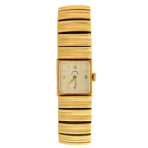 J.E. CALDWELL Estate 14kt Gold Wrist Watch 41.6dwt