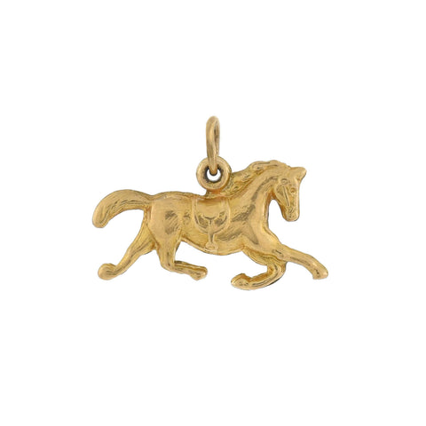 Vintage 14kt Yellow Gold Horse Charm/Pendant