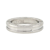 BVLGARI Estate 18kt White Gold B.ZERO 1 Single Band Ring
