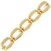 Vintage 14kt Yellow Gold Large Link Bracelet