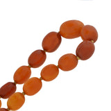 Art Deco Baltic Amber Bead Necklace 32.75