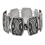 Retro Mexican Taxco Sterling Link Bracelet