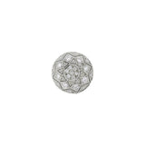 Estate 18kt Diamond Wirework Domed Stud Earrings 0.70ctw