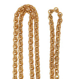 Victorian 14kt Yellow Gold Ornate Chain Necklace 27