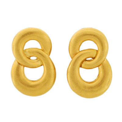 ANGELA CUMMINGS for TIFFANY & CO. Estate 18kt Gold Earrings