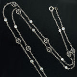 Art Deco Platinum 'Diamonds by the Yard' Chain
