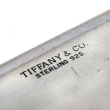 TIFFANY & CO. Vintage Sterling Business Card Compact Case