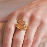 Victorian French 18kt Citrine