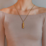 Victorian 14kt Yellow Gold Whistle Pendant