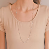 Estate 14kt Gold 4.50ctw 'Diamonds by the Yard' Chain Necklace 31